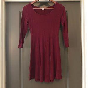 Forever 21 Women's Dress Burgundy Size S